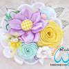 Adelia, Bros Renda dan Bunga Pita Satin