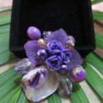 Bros manik kerang ungu