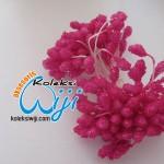 Putik bunga kaca pink fanta,PBK-1555
