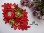 red-olive-brooch