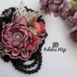 Lorena-brooch-black