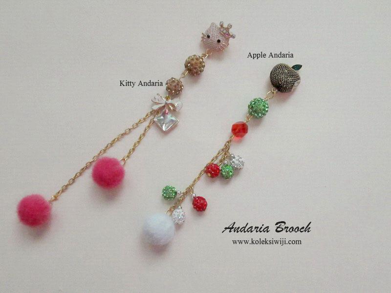 Andaria Brooch