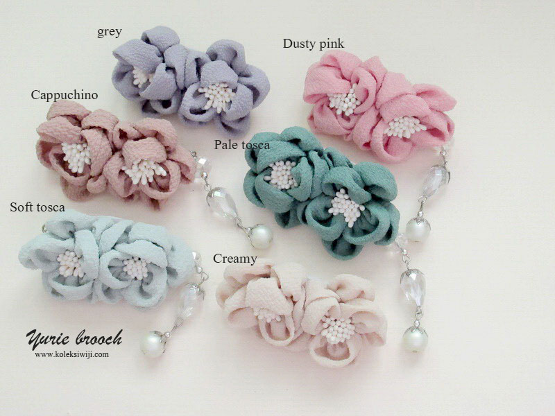 Yurie Brooch Series