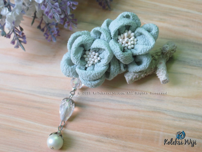 Yurie Brooch Series Soft Green