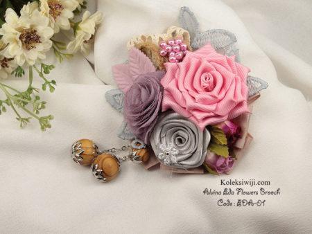 Alvina Eda Flowers Brooch Eda-01