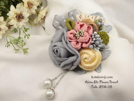 Alvina Eda Flowers Brooch Eda-03