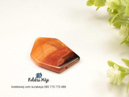 1 Buah Batu Manau Persegi Coklat 2,5 x 4 cm BT5