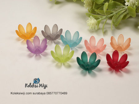 15 Buah Bunga Jelly 14 mm AK61