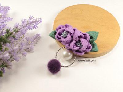 Angelie Purple Brooch-01