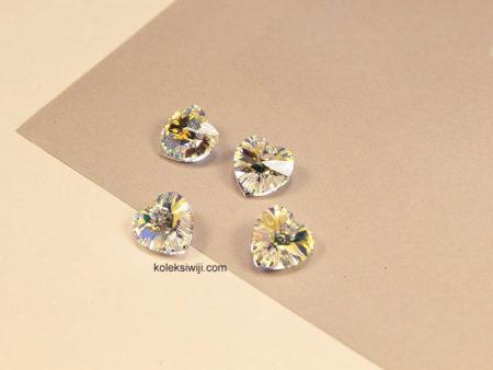1 Buah Liontin Swarovsky Crystal AB 10 mm SW12