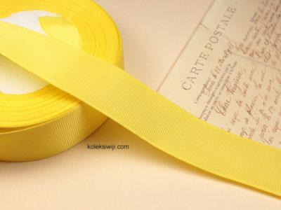 1 Roll Pita Grosgrain Kuning 1 Inch PT40