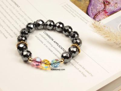Hematite Swa Bracelets BLT25