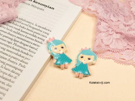 1 Buah Resin Princess Biru RS23