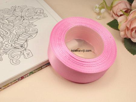 1 Roll Pita Satin 2,5 cm Pink PT96