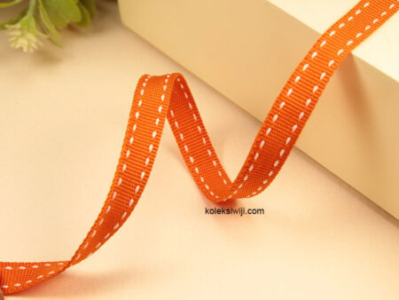 1 Yards Pita Strip 1 cm Orange PT169